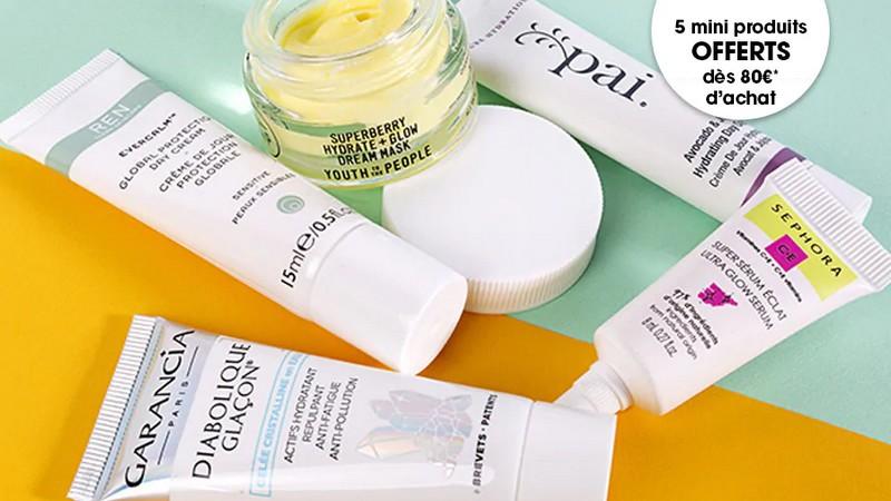 Recevez votre Sephora Box Natural Beauty dès 80 € d'achat