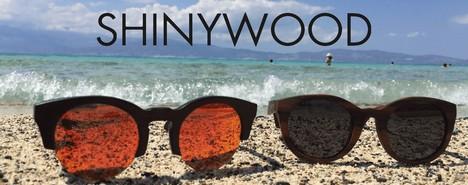 Tendance lunettes de soleil en bois ShinyWood