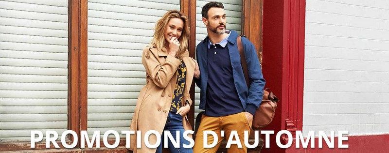 promotions d'automne Spartoo