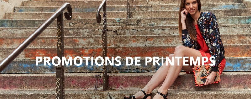 Promotions de printemps Spartoo