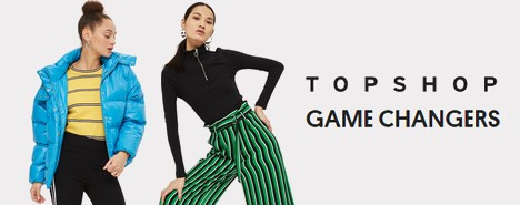 Nouvelle collection Topshop Game Changers