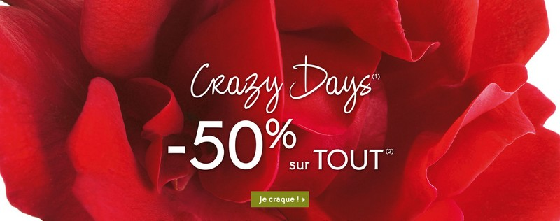 Crazy Days Yves Rocher