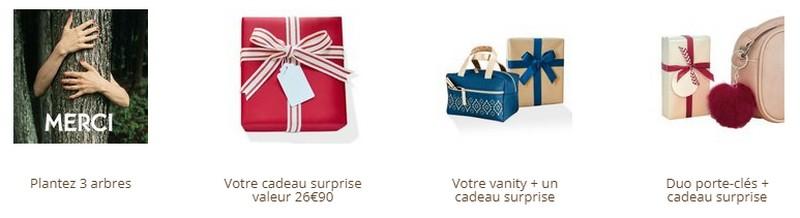 cadeaux Yves Rocher