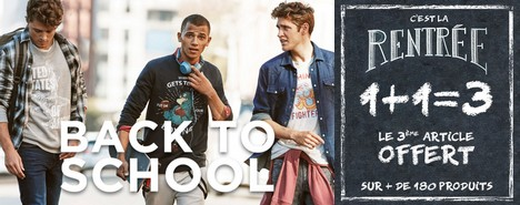 Celio – Promo back to school