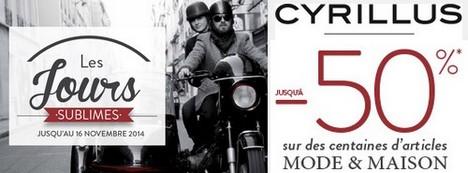 Cyrillus – Promo Jours Sublimes