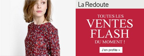 ventes flash La Redoute