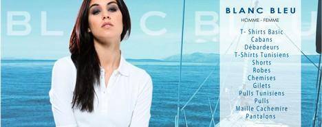 vente privée Blanc Bleu