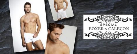 Vente privée de boxers et caleçons