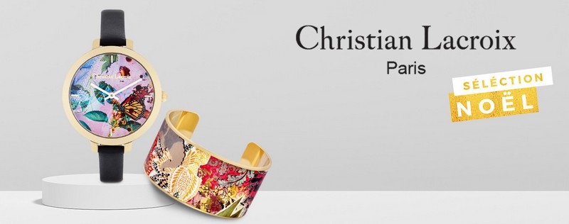 bijoux et montres Christian Lacroix