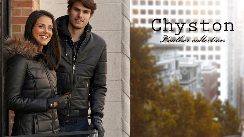 Vente privée Chyston Leather Collection : vestes en cuir