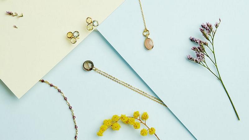 Craquez pour les bijoux Jovelli en argent et pierres naturelles à petits prix