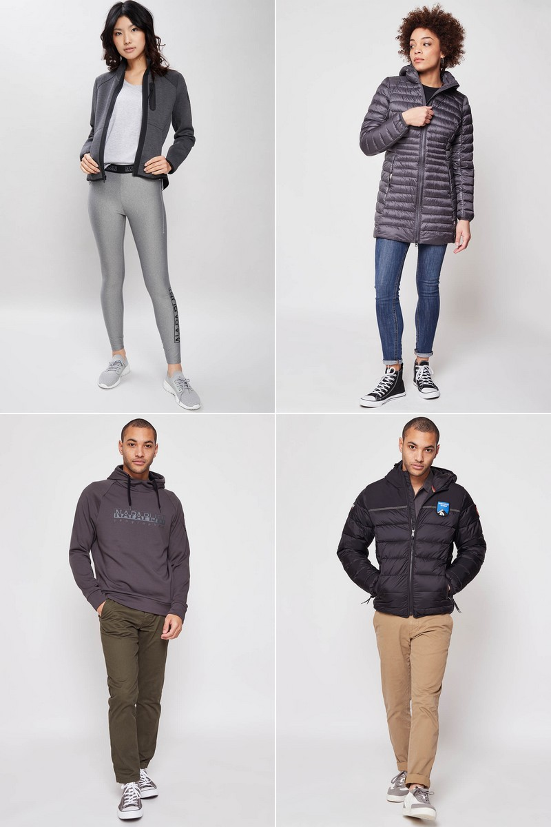 Vente privée Napapijri : mode outdoor