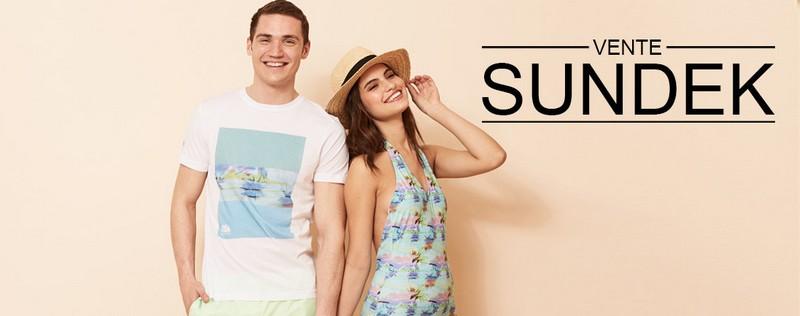 vente privée Sundek