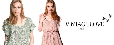 vente privée Vintage Love