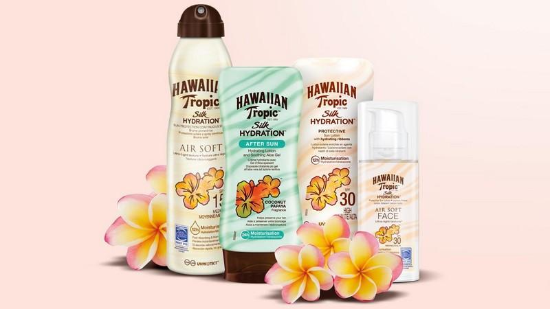 Un bronzage parfait avec les soins solaires Hawaiian Tropic