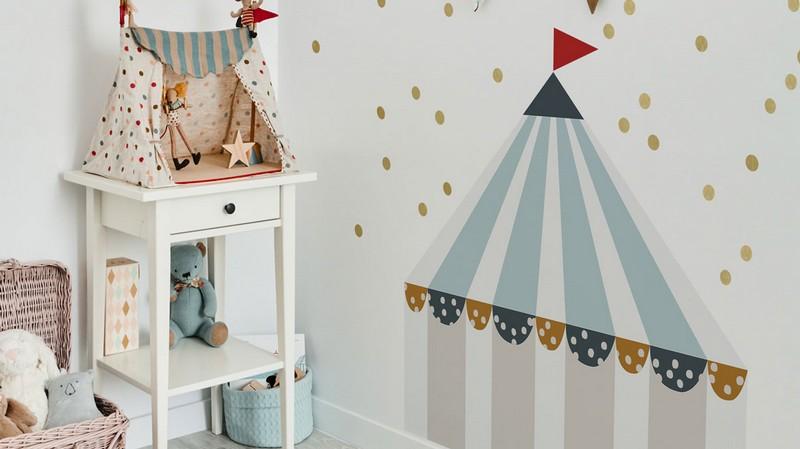 Vente privée Dekornik : stickers muraux et papier peint pour la chambre d'enfant