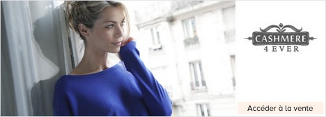 vente privée Cashmere 4ever