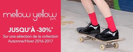 vente privée Mellow Yellow