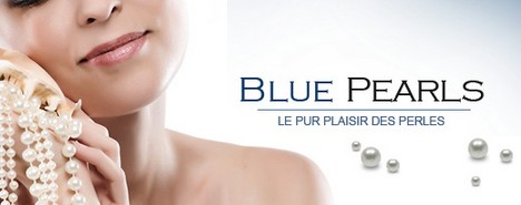 vente privée Blue Pearls