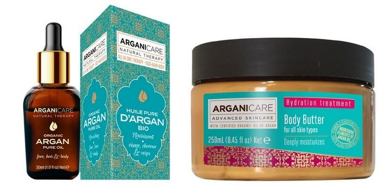 cosmétiques arganicare