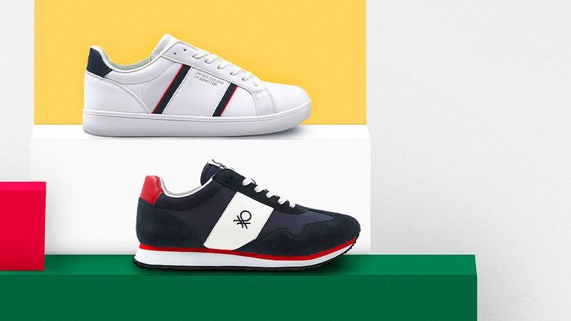 Vente privée de chaussures Benetton