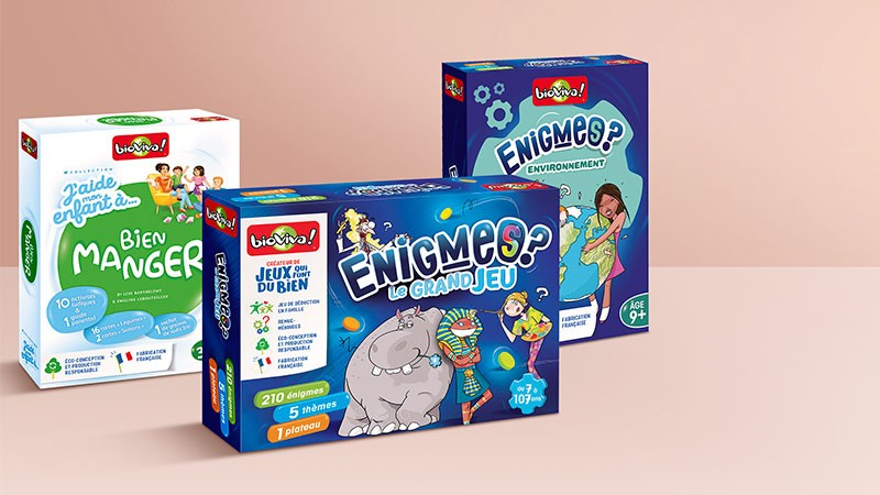 Vente privée Bioviva : les jeux éducatifs et écolo fabriqués en France
