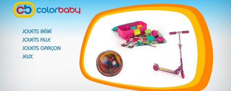 vente privée ColorBaby