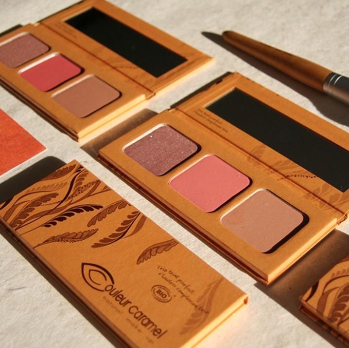 palettes Couleur Caramel