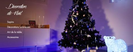 Vente privée décoration de Noël