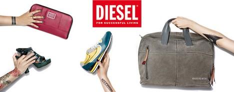 vente privée de chaussures et sacs Diesel
