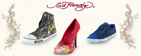 chaussures Ed Hardy