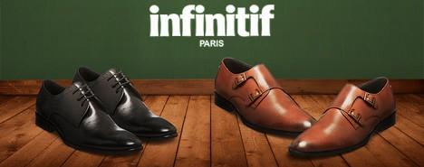 vente privée de chaussures Infinitif