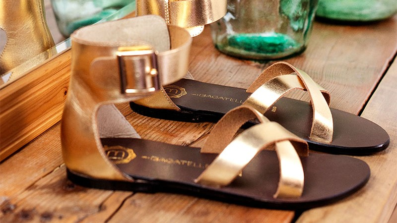 vente privée de sandales Les Bagatelles