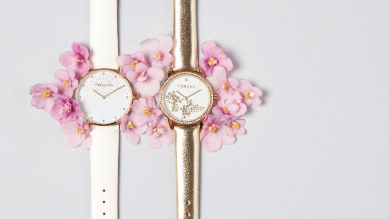 A l'heure du glamour avec les montres Morgan