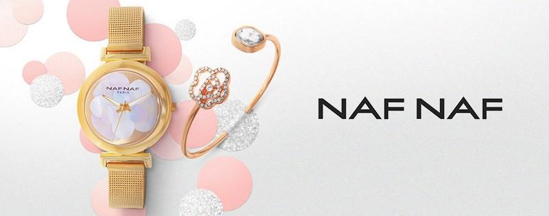 Vente privée de coffrets montres et bijoux Naf Naf