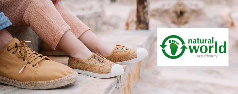 Vente privée Natural World : chaussures éco-friendly à petits prix