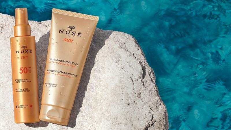 Vente privée Nuxe Sun : soins et protections solaires