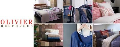 olivier desforges vente priv e de linge de maison. Black Bedroom Furniture Sets. Home Design Ideas