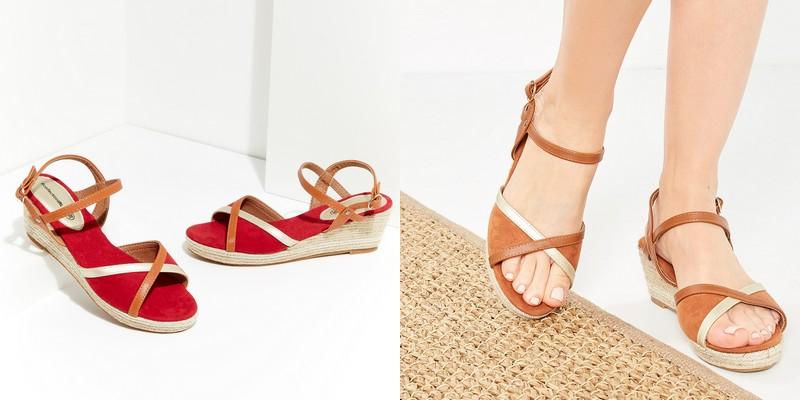 sandales fleuries