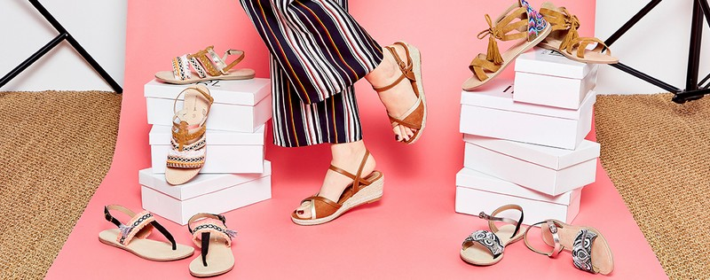 sandales estivales