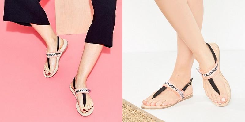 sandales ethniques