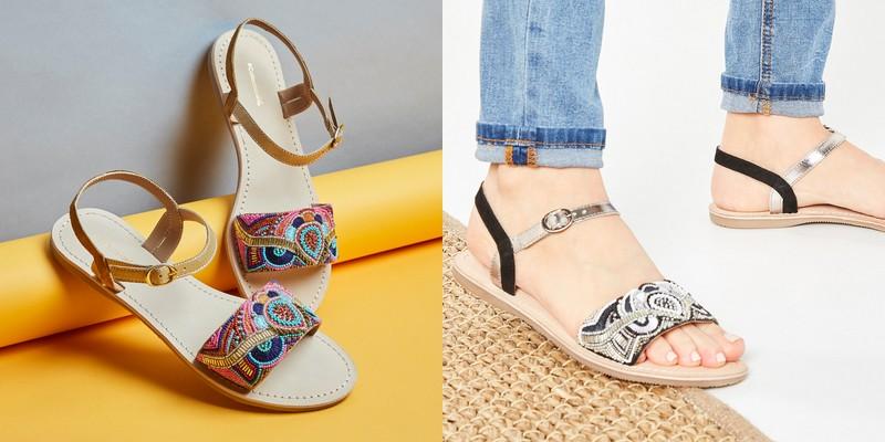 sandales fantaisie