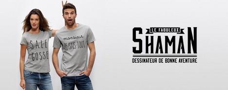 vente privée Shaman