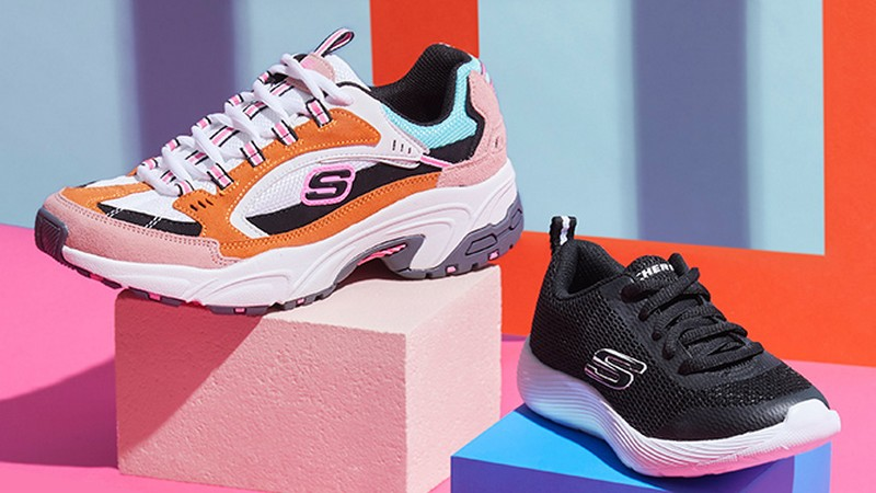 Vente privée Skechers chaussures sport et lifestyle