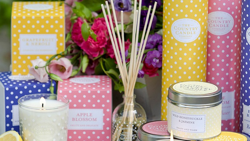 The Country Candle Company : les bougies parfumées au charme British