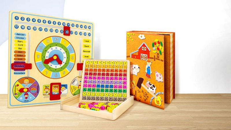 Vente privée de jeux et jouets en bois Ulysse Couleurs d'Enfance