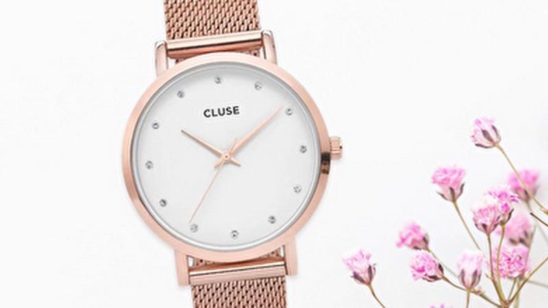 Vente privée Cluse : montres minimalistes et élégantes