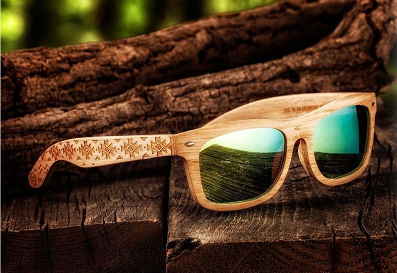 lunettes de soleil Earth Wood Goods