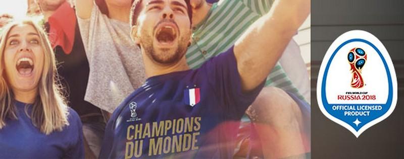 T-shirt FIFA France champions du monde