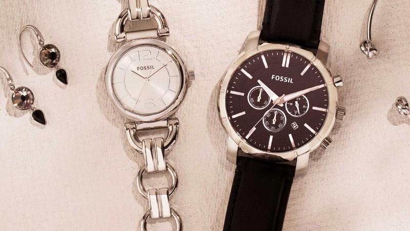Vente privée Fossil montres et bijoux